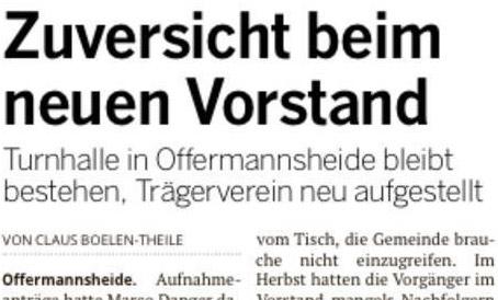 Zeitungsartikel Stadt-Anzeiger