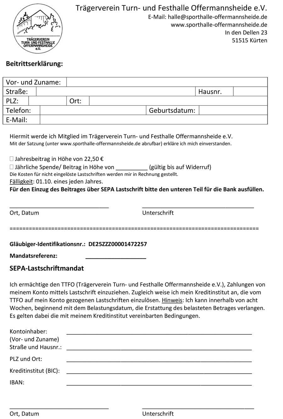 Mietvertrag mit Link zur PDF-Datei